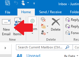 outlook email signature pc quest