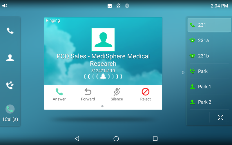 VoIP Phone System - Caller ID