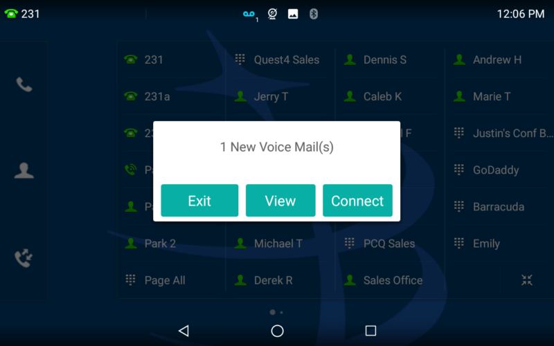 VoIP Phone System - Voicemail